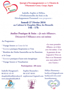 Atelier Je suis alliance 2-27.02.16